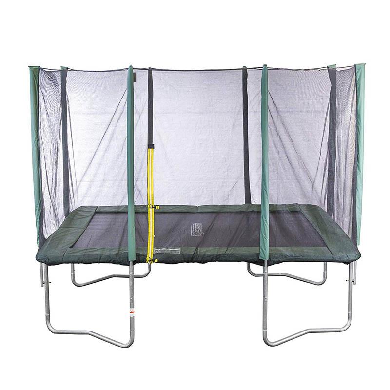 Kinderlino Trampolin Rechteckig 215 X 150 Cm Outdoor Mit Netz